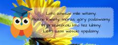 Witamy Lato