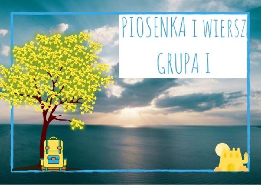 Piosenka I Wiersz Dla Dzieci Z Grupy I Na Wrzesień 2019 A