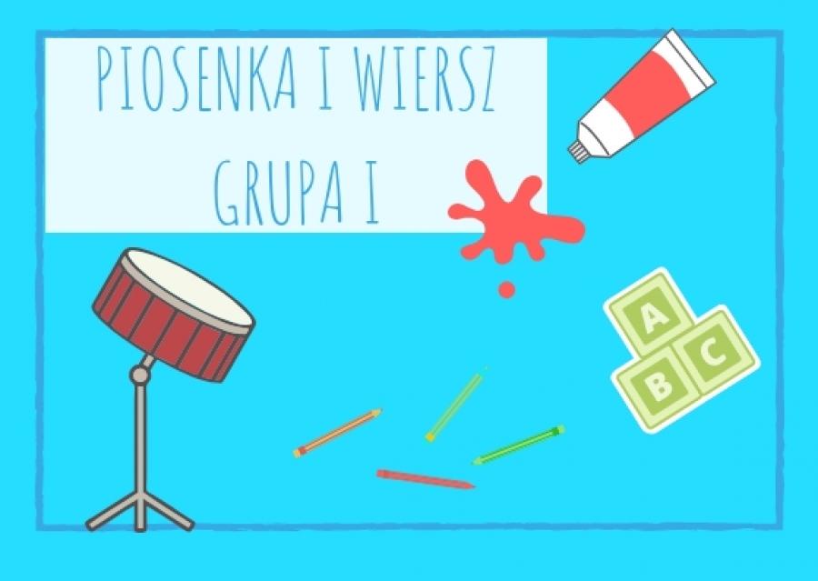 Piosenka I Wiersz Dla Dzieci Z Grupy I Na Wrzesień 2018 A
